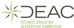 Distance Education Accrediting Commission (DEAC) logo